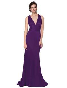 Ever Pretty Trailing V-neck Ruffles Cross Back Empire Waist Bridesmaid Dress 09008, HE09008PP08, Purple, 6US Ever-Pretty,http://www.amazon.com/dp/B007CVUSWU/ref=cm_sw_r_pi_dp_KWx2sb0KMY91QF5R