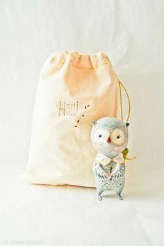 Owl Figurine Doll animal, ABC animals by Paola Zakimi via @Ez Pudewa