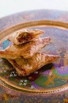 Sweet Potato Curry Puffs. From *Malaysian Cooking* Cookbook