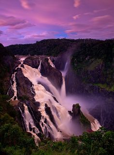 Barron Falls, Kuranda, (near Cairns) North Queensland, Australia Australia Tourism, Queensland Australia, Western Australia, Australia Trip, Melbourne Australia, Oh The Places You'll Go, Places To Travel, Places To Visit, Great Barrier Reef