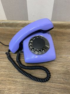 Vintage Purple phone, Old rotary phone, Lilac phone, Circle dial rotary phone, Vintage landline phone, Old Dial Desk Phone, Purple phone Retro Phone, Vintage Phones, Electronic Items, Best Phone, Rotary, Telephone, Landline Phone, Purple, Lilac