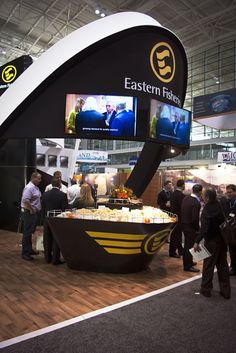 Eastern Fisheries Exhibit Booth by Orion R E D, via Behance