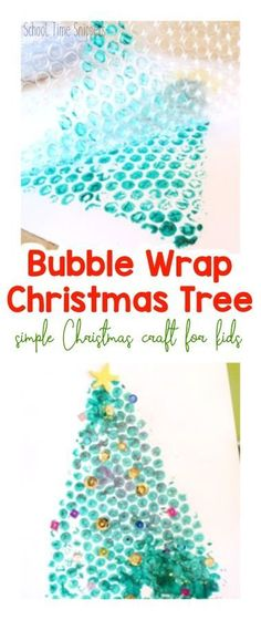 christmas art Make this simple Christmas craft for kids this holiday season using bubble wrap. This Christmas Tree Bubble Wrap Painting Activity will surely delight kids of all ages! Kids Crafts, Preschool Christmas Crafts, Christmas Activities For Kids, Christmas Tree Crafts, Bubble Christmas, Craft Projects, Winter Toddler Crafts, Christmas Crafts For Preschoolers, Christmas Crafts For Kids To Make At School