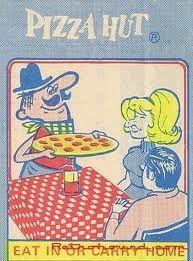 Pizza Hut Pepperoni Pete Placemat