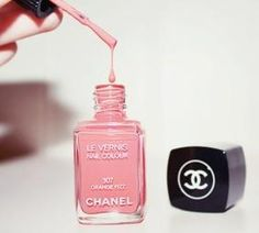 Chanel nail polish in orange fizz Chanel Nail Polish, Chanel Nails, Pink Nail Polish, Pink Nails, Nail Polishes, Pink Toes, Mademoiselle Coco Chanel, Chanel Pink, Beauty Makeup