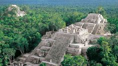 Zona Arqueológica Calakmul, Xpujil - Chetumal es una ciudad mexicana, cabecera del municipio de Othón P. Blanco y capital del estado de Quintana Roo. // Ubicado en el sureste del estado, este asentamiento prehispánico llegó a ser la capital del estado maya