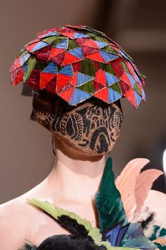 Maison Martin Margiela Couture Spring Summer 2013--here we go again with fashion with out a face.....