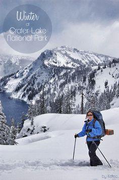 Ranger-Guided Snowshoe Walks at Crater Lake National Park, Oregon