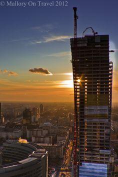 Postcard from beautiful development in Warsaw