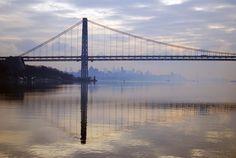Hudson Under the Bridge