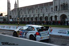 Rally de Portugal 2013 - Lisboa 13   Super Especial Lisboa: http://razaoautomovel.com/2013/04/wrc-2013-mikko-hirvonen-vence-super-especial-de-lisboa.html