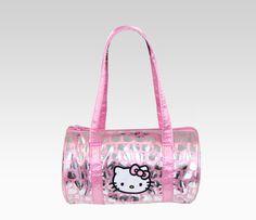 Hello Kitty Mini Satchel: Pink & Silver