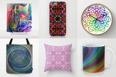 Colorful graphic design gift ideas