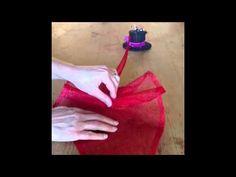 Sinamay Rouched Fascinator - YouTube