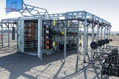 container turned to gym - Buscar con Google
