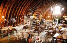 10 Best Barn Wedding Venues in the World | Rubies and Rust Barn | Bridal Musings Wedding Blog 3