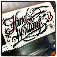 handwriting!