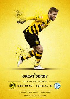 Kuba Błaszczykowski Derby Bvb Dortmund : Schalke 04