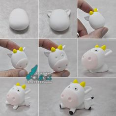 Polymer Clay Cow Step-by-Step Tutorial
