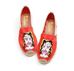 Face Up! Awesome Orange Comfy Flats! In the new revamp website soon #watch the space #nifty