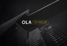 """Check out my @Behance project: """"OLA GRANDEUR"""" https://www.behance.net/gallery/49647519/OLA-GRANDEUR"""