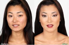 Before---After  Turn your self into a beautiful butterfly every morning. Click here to find out how....
