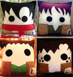 Aot pillows