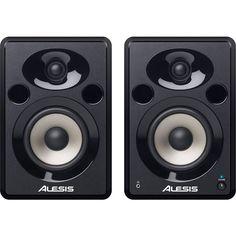 """Alesis - Elevate 5"""" Powered 2-Way Speakers (Pair) - Black"""