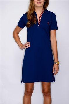 6ee881cc6 Women s Polo Dress Virginia (Navy) by Pennington  amp  Bailes. Find your  team