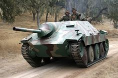 Restored Hetzer tank destroyer...very nice condition!