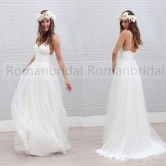 2018 Newest simple Floor-length white wedding dresses, Spaghetti Strap sleeveless elegant Deep V-neck Sexy Wedding Dress, WD0308 The dresses are fully lined, 4 bones in the bodice, chest pad in the bust, lace up back or zipper back are all available, total 126 colors are available. This dress could be custom made, there are no extra cost to do custom size and color. Description 1, Material: tulle 2, Color: picture color or other colors, there are 126 colors are available, please contact us…