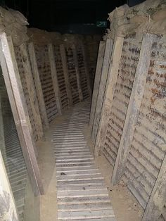 FLANDERS FIELDS: WWI - restored trenches in Ypres, Belgium, in these trenches men fought, died, and were brutally slaughtered. World War One, First World, Ypres Ww1, World History, Ww1 History, Flanders Field, Trauma, History Teachers, Lest We Forget