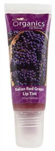 Lip Tint Italian Red Grape Organic 0.35 Ounces by Desert Essence. $3.24. 0.35 Ounces Liquid. Serving Size:. Gluten Free. Our lightly flavored lip tints contain jojoba, shea butter, and a blend of essential oils that will soothe and protect your lips with a hint of color.. Save 46%!