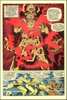Galactus / Fantastic Four by Jack Kirby