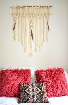 Make it boho : DIY | Minimalistisches Stauraumbett Diy Furniture For Small Spaces, New Room, Diy Tutorial, Boho, Pillows, Crochet, House, Super, Inspiration