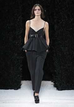 Neckline! Designer Clothing, Accessories, Women's Apparel by Vera Wang | Spring 2015