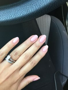 OPI Bubble Bath gel manicure