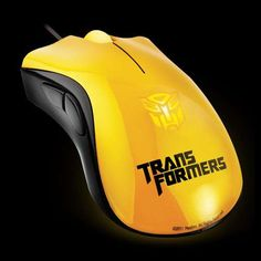 Transformer Mouses!  For my brother