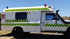 Mining ambulance. Western Australia