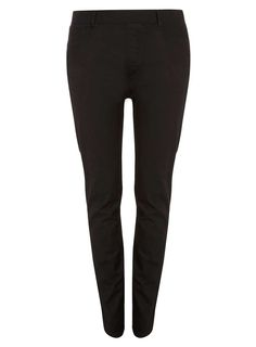 Womens DP Curve Plus Size Black Slim Fit Jeggings- Black