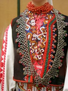 Hungarian textures Tribal Dress, Ethnic Dress, Traditional Fashion, Traditional Dresses, Hungarian Embroidery, Folk Dance, Wedding Costumes, Clothing And Textile, To My Daughter