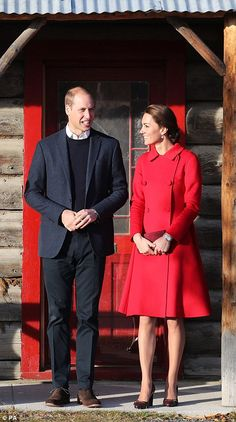 William and Kate have an early start in Canadian town of Whitehorse #dailymail