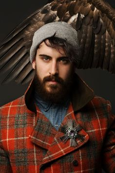 Harris Tweed Hebrides commision by ten30, Phot: Simon Murphy, styl: by Alan Moore, 2012