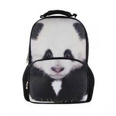 e136e184d29 Cool Children Animal Felt Backpack Men s Backpack Crazy Horse Printing Bag  for School Girls College Student Bagpack Retail
