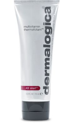 Step 2: Multivitamin Thermafoliant    A fine mineral powder blend polishes to help minimize fine lines.