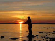 Fishing beneath the midnight sun at Frontier Fishing Lodge in the Northwest Territories