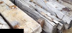 Reclaimed timber in