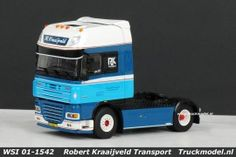 WSI 01-1542 Robert Kraaijveld Transport DAF XF 105 Super Space Cab trekker