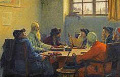 Ο Θεόδωρος Ιακώβου Ράλλης (Κωνσταντινούπολη, 16 Φεβρουαρίου 1852 – Λωζάνη, 2 Οκτωβρίου 1909· γνωστός και ως Théodore Jacques Ralli ή Rallis) ήταν έλληνας ζωγράφος της «γαλλικ...Οι επτά  ραββίνοι