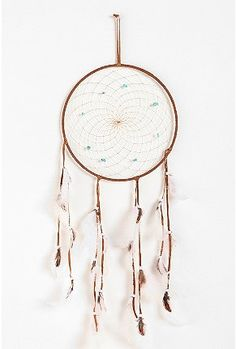 MY husband had an old dreamcatcher for years, but when we moved out the old apartment, we accidentally left it behind.  I love the idea of this oversized one being in the new apartment when we move in August... the price is high ($29), but it would be a pretty neat birthday present for him:)